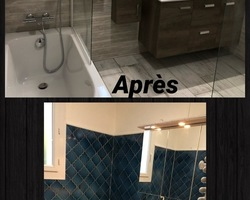 Refection salle de bain - Granul'Bois Groupe ABT - Manosque
